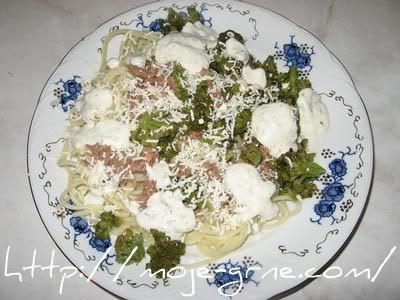 Špagete sa tunjevinom i brokolijem