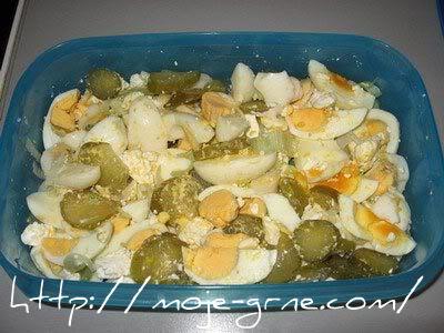 Mešana salata sa jajima