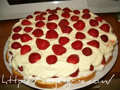 Gagicina torta sa jagodama