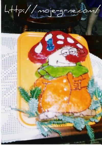 Pečurka torta