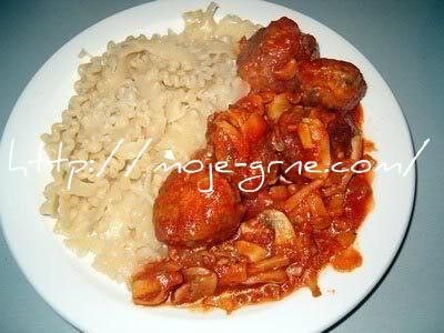 cufte od soje i mlevenog mesa