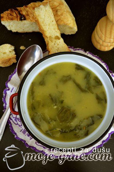 Krem supa od blitve