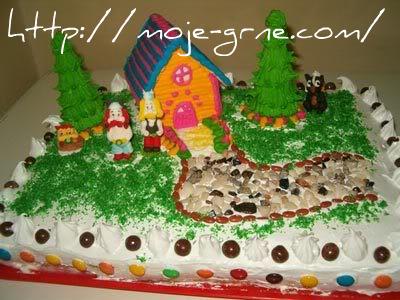 ikina rođendanska torta