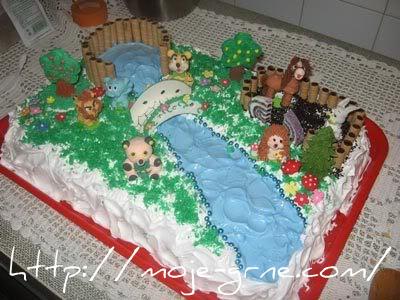carobna suma-vukova rodjendanska torta