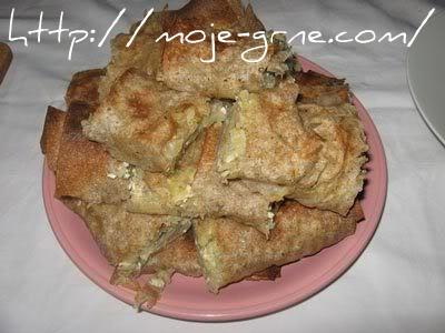 Krompirusa sa tofu sirom i heljdinim korama