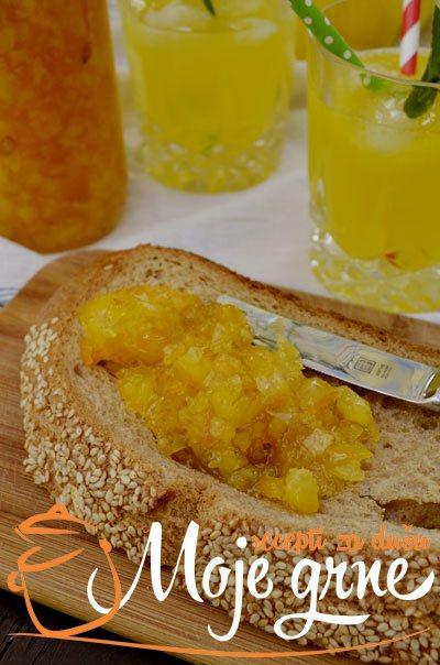 Sok i slatko od pomorandže