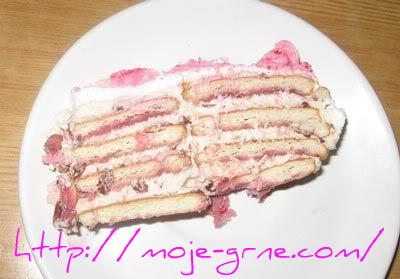 Torta sa keksom i pavlakom