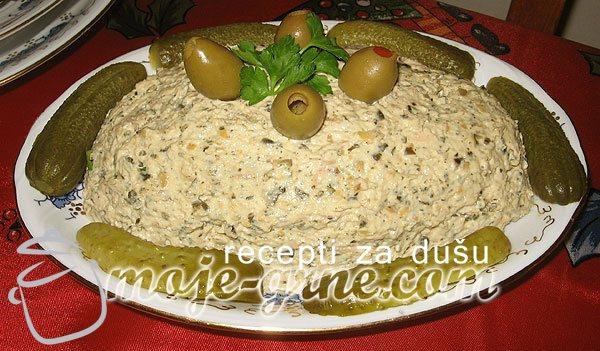 Grnetova pileća salata sa golicom