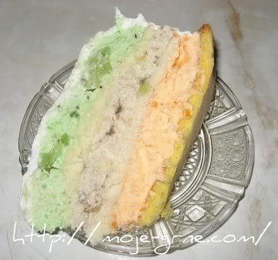 amazonka torta