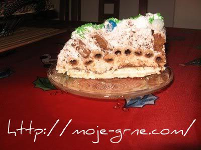 grnetova novogodisnja torta