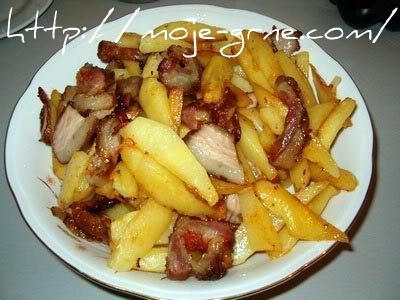 krompir sa suvim mesom