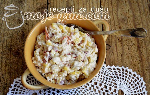Salata od pirinča