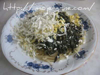 spagete sa zeljem