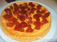 Torta sa grožđem i dunjom