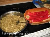 Paprike punjene mlevenim mesom i šampinjonima