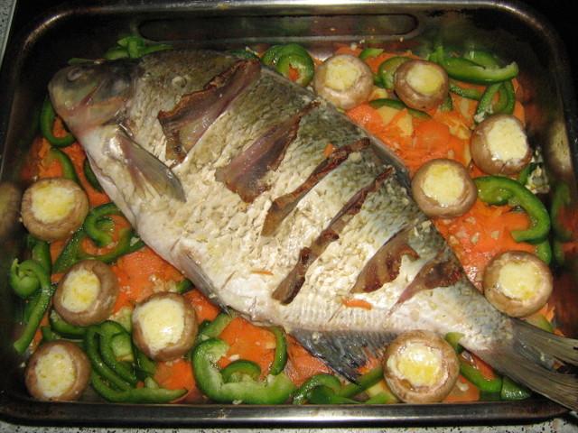 Tolstolobik u povrću