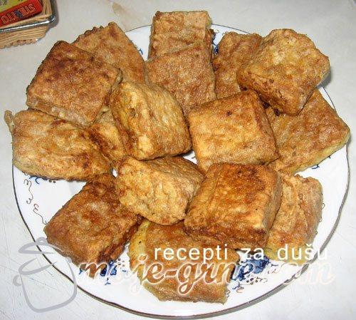 Slane oblande sa piletinom
