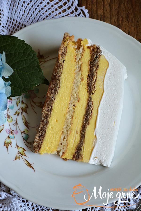 Ledena kraljica torta