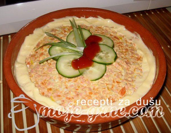 Hladna salata sa šargarepom