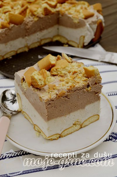 Parfe torta od banana