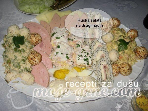 Ruska salata na drugi način