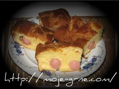 Slana torta sa viršlama