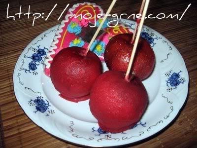kandirane jabuke