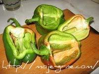 Zapečene paprike sa krompirom