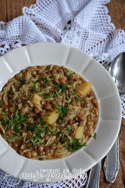 Supa od sočiva (leće)
