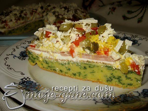 Čupava torta