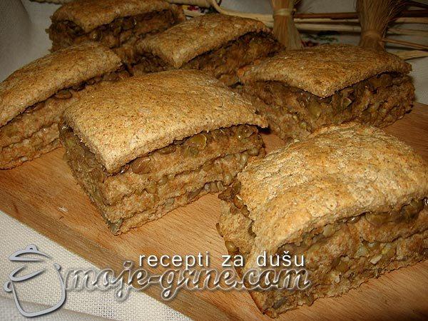 Lisnati hleb sa žitaricama