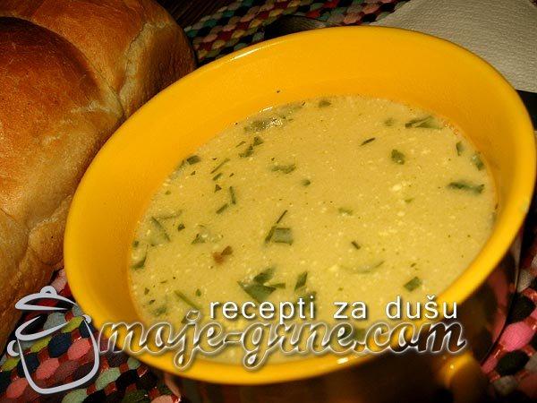 Supa od pirinča