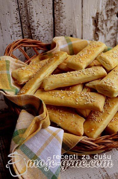 Slani štapići sa sirom