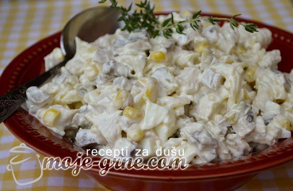 Salata sa pečurkama