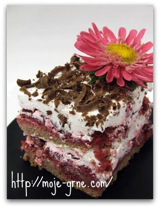Jednostavna torta sa višnjama