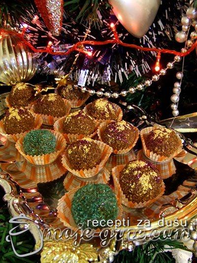 Šarene kuglice sa kokosom