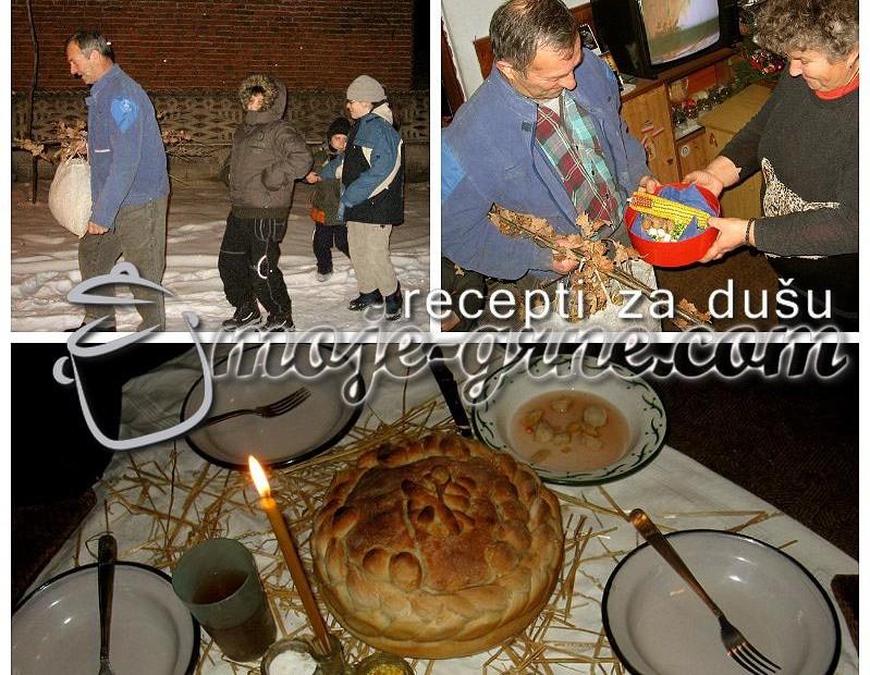Badnje veče u Sumrakovcu