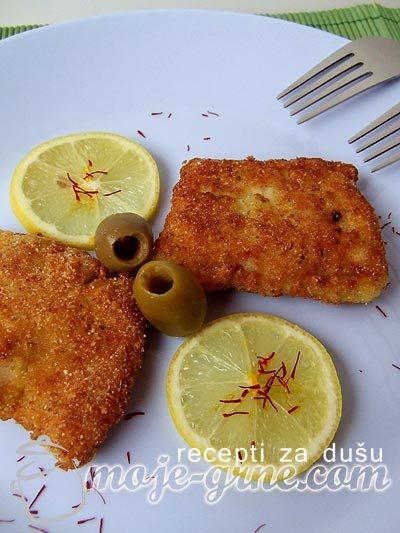 Pohovani fileti oslića