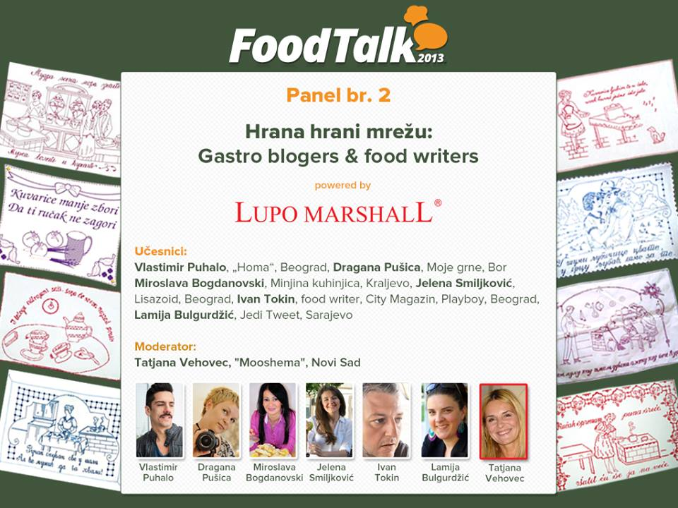 Hrana hrani mrežu: Gastro blogers & food writers
