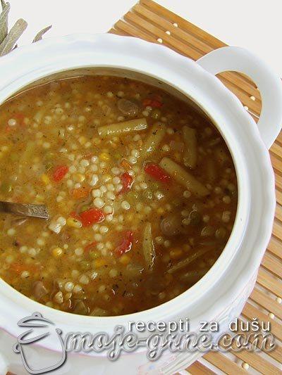 Varivo od mešanog povrća sa taranom