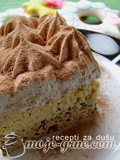 Nepečeni krem kolač