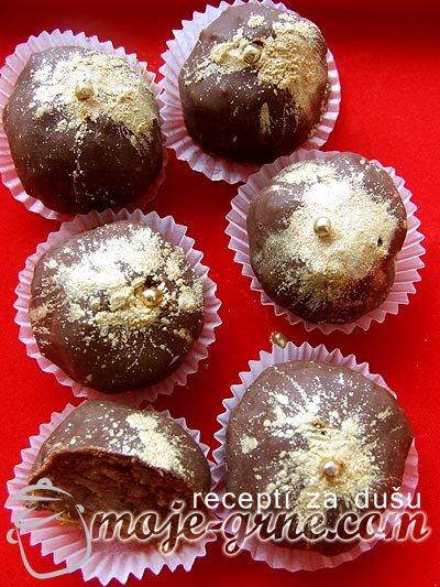 Čokoladne kuglice sa smokvama