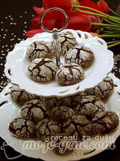 Čokoladne loptice - Raspucanci