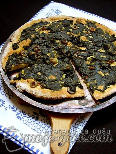 Pica sa zeljem