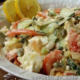 Salata sa ovčjim sirom
