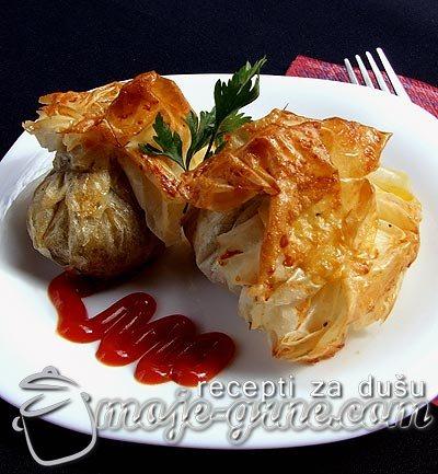 Svinjski file u kori za pitu