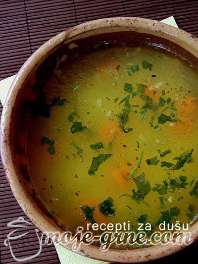 Kuvana junetina u sosu od paradajza - Rinflajš i Juneća supa