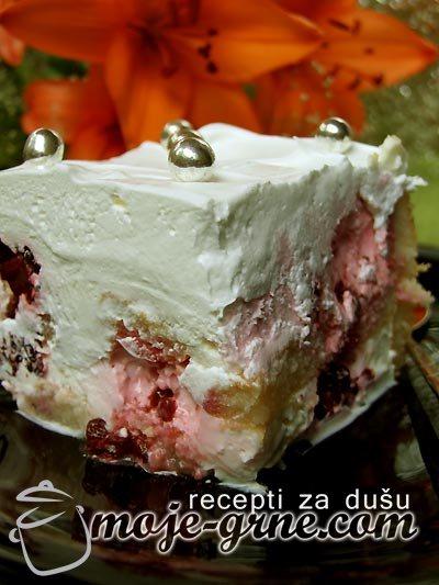 "Aurorina Torta s malinama ""Speedy Gonzales"""