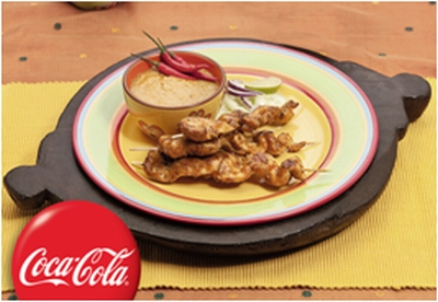pileci sataj kebab sa sosom od kikirikija