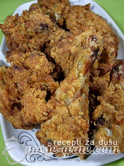 Southern fried chicken – Južnjačka piletina